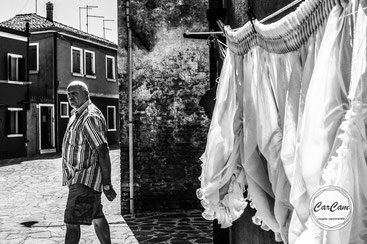 Venise, venice, sérénissime, travel, murano, noir et blanc, black and white, street photography, carcam, je shoote