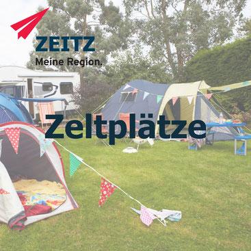 zeltplatz zeitz, zelten, zeltplätze in zeitz