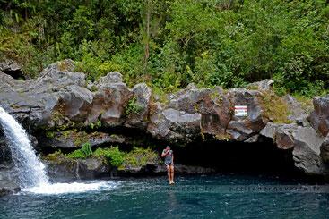- Cascade du Jare - Rivière Langevin - Île de la Réunion -