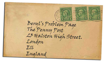 Photo of Vintage postcard.