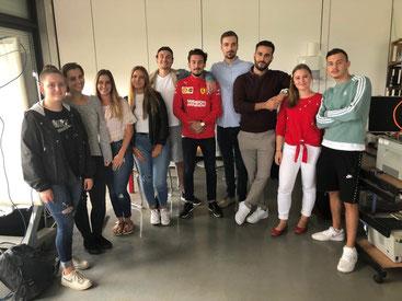FSV17 Schüler der Eventfachschule Ludwigshafen 2017 bis 2019 Klassenfoto
