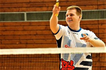 Matthias Kroll siegte im Einzel locker
