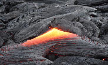 flüssige Lava des Kilaueas