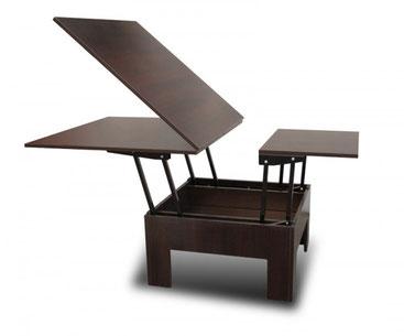 Мебель-трансформер: стол журнальный - обеденный