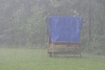Und dann kam der Regen ...