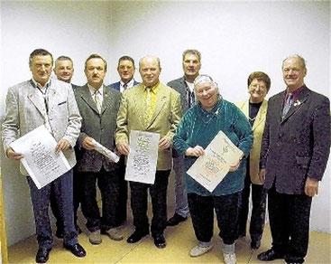 Ehrungen 2005 - in Oberthulba