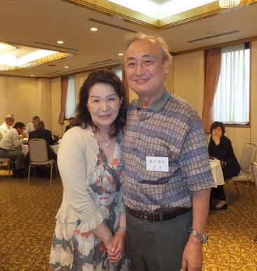 阪上さんご夫妻。音楽家のご主人と、感性豊かで可愛らしい奥様。本当に素敵なご夫婦でした。