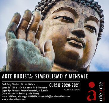 Buddha; budismo; arte budista; arte oriental; cursos; Barcelona;