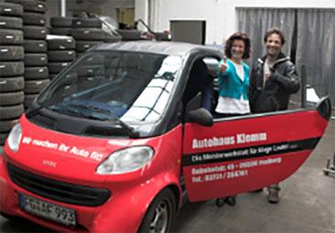 Autohaus Klemm, Werkstatt, Autoverkauf