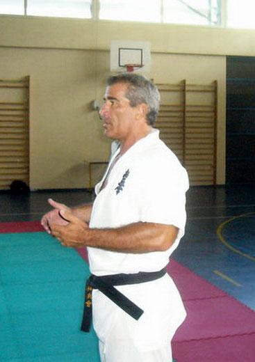 Sensei Cosimo Nano Arnone - Kyokushin Budokai France