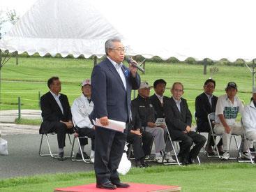 主催者挨拶(角山開発㈱寺嶋社長)