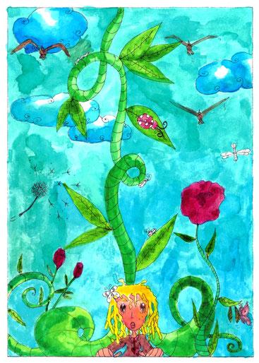 Illustration proposée par l'illustratrice Cloé Perrotin