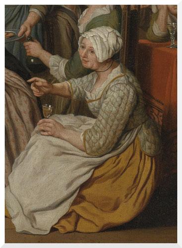Gemälde von Jan Josef Horemans II - Bürgerliches Interieur