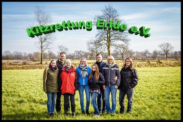 2018 - die Gründungsmitglieder vom Verein Kitzrettung Erfde e.V.