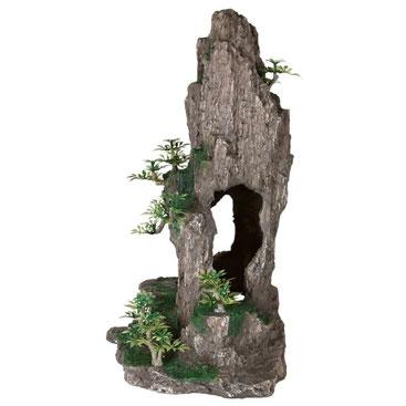 Trixie 8858 Felsen mit HöhlePflanzen