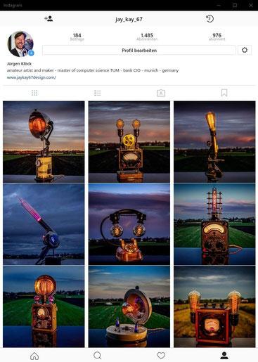 2018 Instagram account