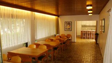 Bild: Partyraum Terrassenhaus Hannover / Mühlenberg