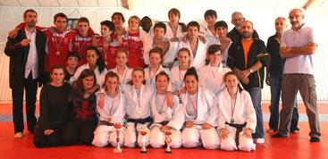 Equipes cadets  Mussidan - Terrasson et Chancelade Ribérac
