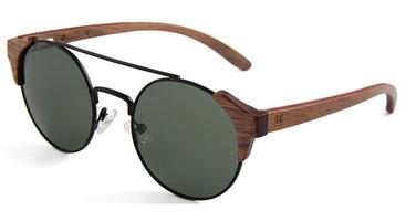 Sonnenbrille Holz Rund Nussholz 2018
