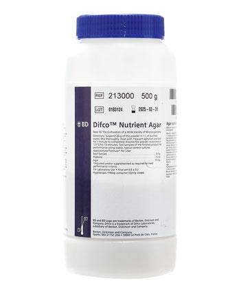 213000 BD Difco™ Agar Nutritivo, 500 g
