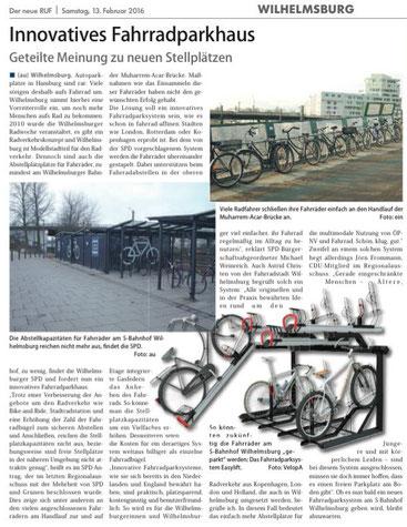 Neuer Ruf Wilhelmsburg 13.02.16