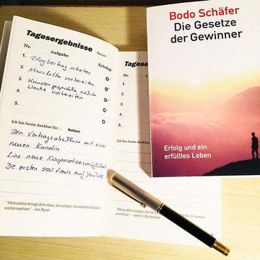 Die Gesetze der Gewinner - Bodo Schäfer Erfolgsournal