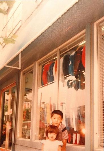 葛飾時代のOSFC ショーウィンドウの写真