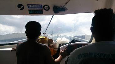 高速ボートの運ちゃん