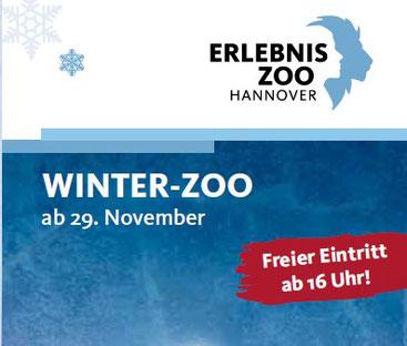 Winterzoo ab 29. November