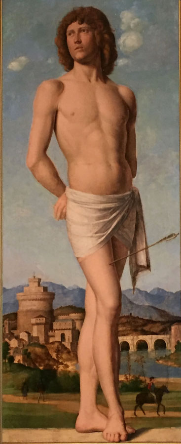 Cima da Conegliano, St. Sebastian, 1500-1502, Straßburg, Musée des Beaux-Arts