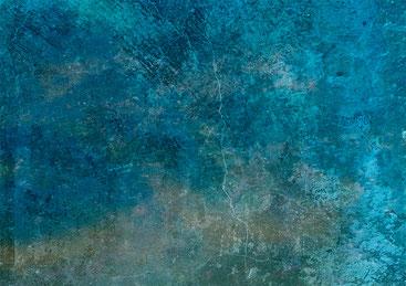 Peinture dégradé bleus