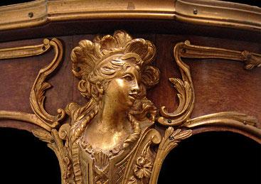 Marquetterie bronze