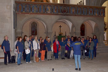 Laudate omnes gentes - gesungen im Kirchenraum des Domes