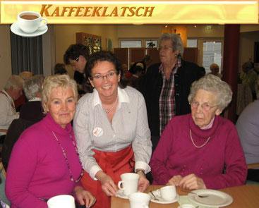 Kaffeeklatsch im Malteser-Altenheim