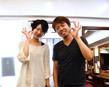 横浜の無責任美容師☆奥条勇紀☆ロングスタイルからショートスタイルへお任せカット