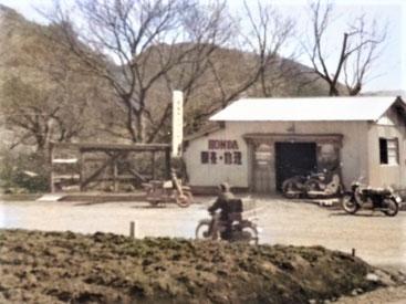 1964年(昭和39年)ホンダ2輪車の特約店として創業
