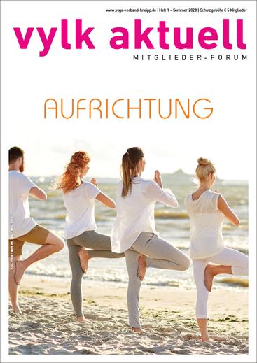 Für Yogalehrende neues Magazin