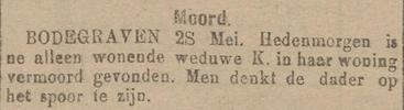 Nieuwe Tilburgsche Courant 28-05-1919