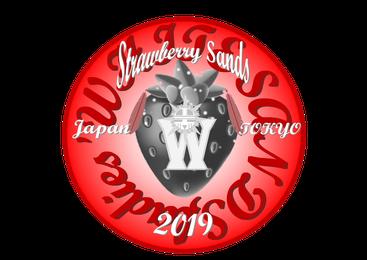 ツーリングクラブ東京-Strawberry Sands ロゴ