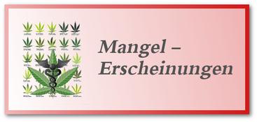 Mangelerscheinungen bei Hanf-Cannabis