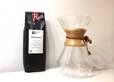 Relaxation Kaffee und Chemex