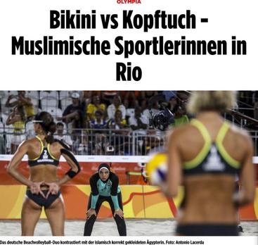 Quelle: http://www.bild.de/sport/olympia/olympia-2016/bikini-vs-kopftuch--muslimische-sportlerinnen-47248398.bild.html