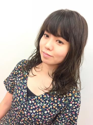 パーマスタイルのこだわりは・・・自然と束感のでるカール作り 横浜・美容室