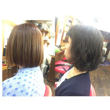 横浜の無責任美容師☆奥条勇紀☆縮毛矯正とパーマの唯一の違いは髪に与える変化(ダメージ)の違い