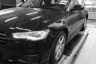 Fahrzeugprüfung Auto Front