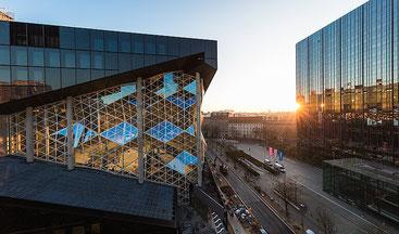 Axel Springer Neubau in Berlin
