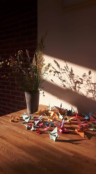 Zen Centrum Eemland, stilteruimte, inspiratie, kraanvogels vouwen, workshop, gratis, Sadako Sasaki