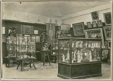 Exposition d'art et d'archéologie à Abbeville en juillet 1897 à l'occasion du centenaire de la  Société d'Émulation © Archives et Bibliothèque patrimoniale d'Abbeville