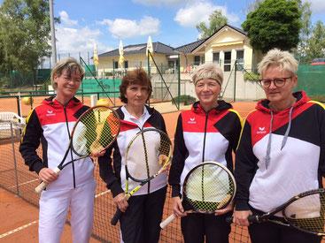 Kathrin Schneider, Christiane Damm, Ines Graeber, Birgit Herden v.l.n.r.