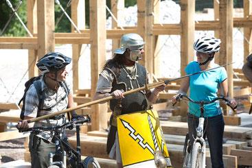 Römische Legionäre zu Gast beim 15. Paderborner Fahrradtag © Ruhr Tourismus GmbH